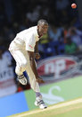 Daren Powell made the only breakthrough on the first morning in Trinidad, West Indies v England, 5th Test, Trinidad, March 6, 2009