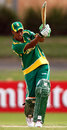Alicia Smith flicks to the leg side, South Africa v West Indies, Group A, women's World Cup, Newcastle, March 8, 2009