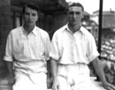 Yorkshire cricketers Geoffrey Keighley and Gerald Smithson, 1947