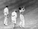 Glamorgan's Johnnie Clay in action against Surrey at The Oval, circa 1930