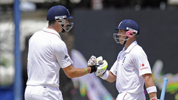 Kevin Pietersen and Matt Prior batted swiftly to hasten England's declaration
