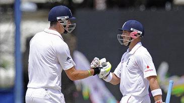 Kevin Pietersen and Matt Prior batted swiftly to hasten England's declaration