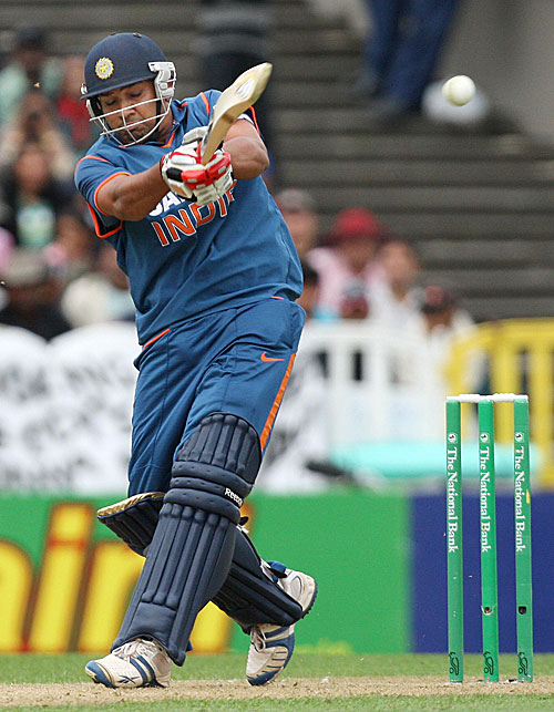 Rohit Sharma bats with his eyes closed to the situation.