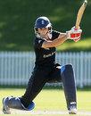 Caroline Atkins drives on her way to 50, England v West Indies, Super Six, women's World Cup, Sydney, March 17, 2009