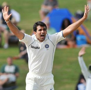 Zaheer Khan: second on India's fast-bowling charts