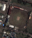 Satellite image of Shivnarine Chanderpaul Drive, outside Bourda Cricket Ground