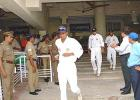 18 Mar 2001: Australia in India, India v Australia 3rd Test, MA Chidambaram Stadium, Chepauk, Chennai, 18-22 Mar 2001(Day 1).