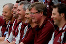 Andy Caddick enjoys a joke during Somerset's pre-season photocall, Taunton, March 30, 2009