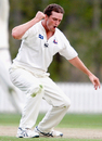Lance Shaw celebrates another wicket