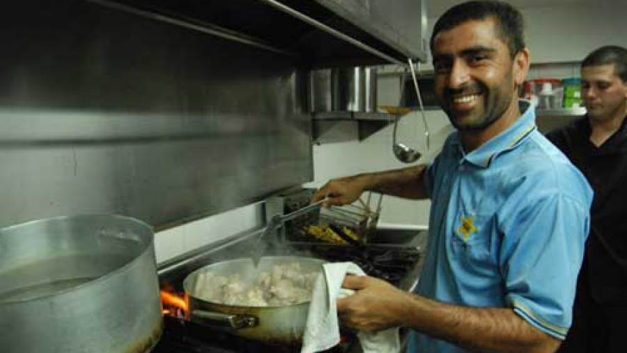 Hasti Gul of Afghanistan cooks a meal