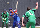 Raees Ahmadzai top scored for Afghanistan with an unbeaten 50, Afghanistan v Ireland, ICC World Cup Qualifiers, Super Eights, Krugersdorp, April 11, 2009