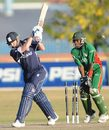 Not a replay he'd like to see: Scotland's John Blain is bowled for 10, Kenya v Scotland, ICC World Cup Qualifiers, Super Eights, Krugersdorp, April 13, 2009