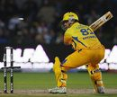 Albie Morkel is bowled, Bangalore Royal Challengers v Chennai Super Kings, IPL, 5th game, Port Elizabeth, April 20, 2009