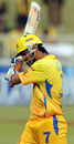 MS Dhoni heads back to the pavilion disappointed, Chennai Super Kings v Delhi Daredevils, IPL, 9th match, Durban, April 23, 2009