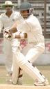 Amit Majumder plays it square, Bangladesh U-19 v Sri Lanka U-19, 1st Test, Fatullah, 3rd day