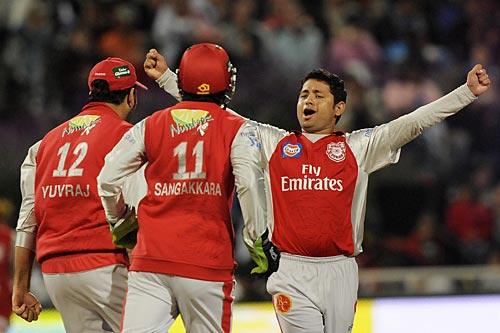 15th match: Kings XI Punjab v Rajasthan Royals at Cape Town, Apr 26, 2009