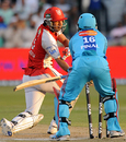 Karan Goel is stumped by Pinal Shah, Kings XI Punjab v Mumbai Indians, IPL, 20th match, Durban, April 29, 2009