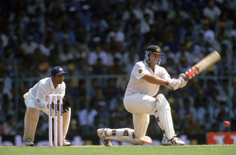 Sweep dreams: Matthew Hayden was the leading run-getter of the series, making 549 at 109.8, with four 50-plus scores