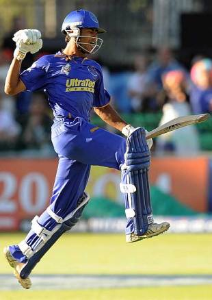 Abhishek Raut punctuates a tense win for Rajasthan, Deccan Chargers v Rajasthan Royals, IPL, 25th match, Port Elizabeth, May 2, 2009