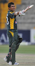 Kamran Akmal brings up his hundred, Pakistan v Australia, 5th ODI, Abu Dhabi, May 3, 2009