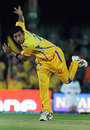 Shadab Jakati in action, Chennai Super Kings v Deccan Chargers, IPL, 29th match, East London, May 4, 2009