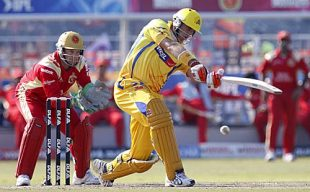 Matthew Hayden made a 38-ball 60, Chennai Super Kings v Royal Challengers Bangalore, IPL, Durban, May 14, 2009