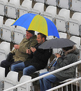 Hardy souls brave Durham's rain, England v West Indies, 2nd Test, Chester-le-Street, May 14, 2009