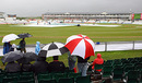 A miserable and wet scene at Chester-le-Street, England v West Indies, 2nd Test, Chester-le-Street, May 14, 2009