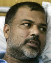 Ijaz Ahmed speaks to reporters at a local hospital in Lahore, May 19, 2008
