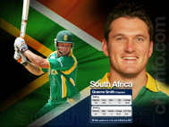 Team South Africa - World Cup 2007