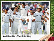 Anil Kumble - The Spin King