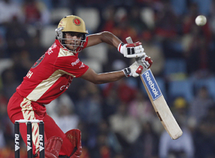 Manish Pandey guides it past gully, Royal Challengers Bangalore v Deccan Chargers, IPL, 56th match, Centurion, May 21, 2009