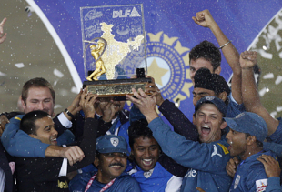 Deccan Chargers were crowned winners of the IPL following their six-run win against Royal Challengers Bangalore in Johannesburg