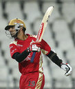 Rahul Dravid is miffed with himself for getting out, Royal Challengers Bangalore v Deccan Chargers, IPL, final, Johannesburg, May 24, 2009