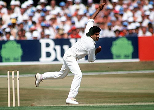 Kapil Dev in action