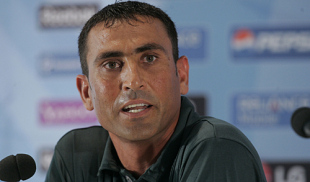 Younis Khan speaks during a press conference, Lord's, May 31, 2009