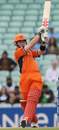Alexei Kervezee goes over the top, Netherlands v Scotland, ICC World Twenty20 Warm-up Matches, June 3, 2009