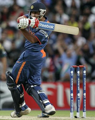 Rohit Sharma hooks, India v Pakistan, ICC World Twenty20 warm-up match, The Oval, June 3, 2009