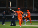 Edgar Schiferli leaps for joy as he seals Netherlands' dramatic last-ball win, England v Netherlands, ICC World Twenty20, Lord's, June 5, 2009
