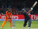 Ravi Bopara slogs over midwicket, England v Netherlands, ICC World Twenty20, Lord's, June 5, 2009