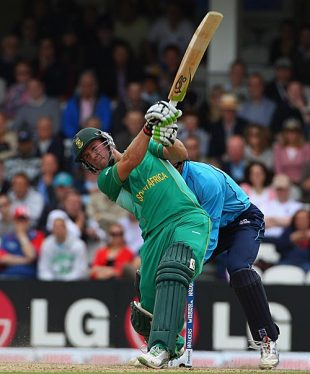 AB de Villiers goes downtown, Scotland v South Africa, ICC World Twenty20, The Oval, June 7, 2009