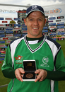 Niall O'Brien was named Man of the Match , Bangladesh v Ireland, ICC World Twenty20, Trent Bridge, June 8, 2009