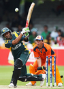 Shoaib Malik hits out, Netherlands v Pakistan, ICC World Twenty20, Lord's, June 9, 2009