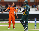 Pieter Seelaar is animated after sending back Kamran Akmal