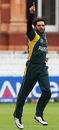 Shahid Afridi celebrates another wicket, Netherlands v Pakistan, ICC World Twenty20, Lord's, June 9, 2009