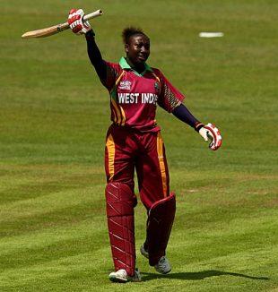 Stafanie Taylor reaches her half-century, South Africa v West Indies, ICC Women's World Twenty20, Taunton, June 11, 2009