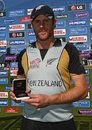 Aaron Redmond was named Man of the Match for his 30-ball 63, Ireland v New Zealand, ICC World Twenty20 Super Eights, Trent Bridge, June 11, 2009