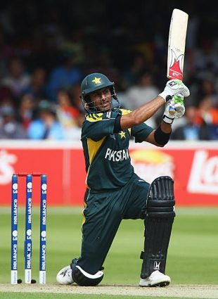 Shoaib Malik made 28, Pakistan v Sri Lanka, ICC World Twenty20 Super Eights, Lord's, June 12, 2009
