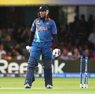 Yuvraj Singh is stumped, England v India, ICC World Twenty20 Super Eights, Lord's, June 14, 2009