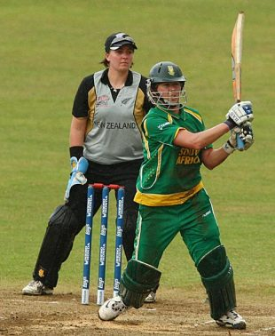 Cri-Zelda Brits made an unbeaten 57, New Zealand v South Africa, ICC Women's World Twenty20, Taunton, June 15, 2009